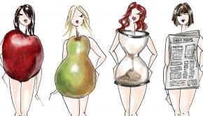 انواع شکل بدن