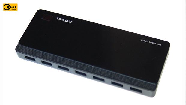 این هاب تیپیلینک هفت پورت دارد و ۱۳۰هزار تومان است و از یواسبی ۳ پشتیبانی میکند