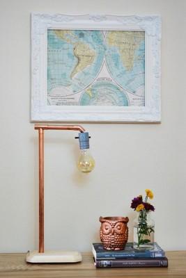 Copper-Lamp