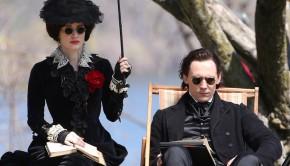 Tom-Hiddleston-Jessica-Chastain-Set