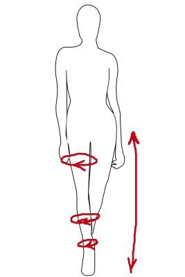 انداز زیبا, تناسب اندام, پاها