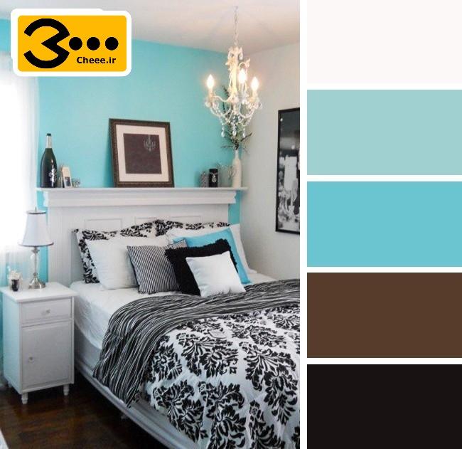ترکیب رنگ اتاق خواب