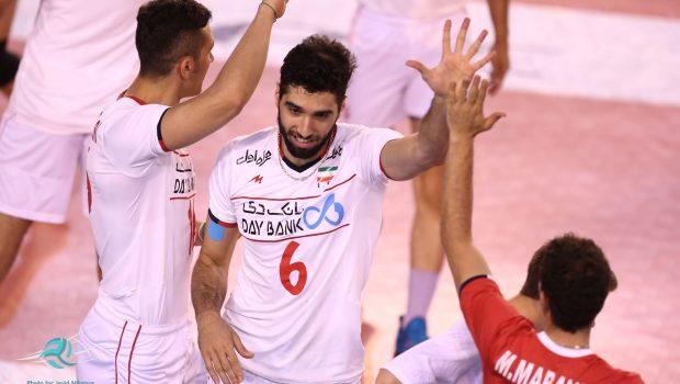 والیبال ایران و فرانسه